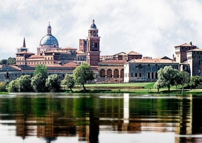 Mantua's Old Town, a World Heritage Site