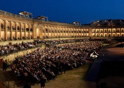 Macerata's open-air theatre