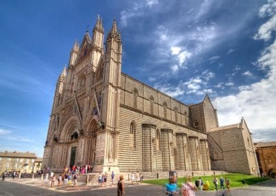 Orvieto's Duomo is one of Italy's finest cathedrals