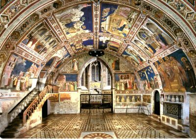 The frescoes of Assisi's Basilica of St. Francis