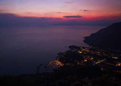 Maratea lies on the dazzling Tyrrhenian Coast.