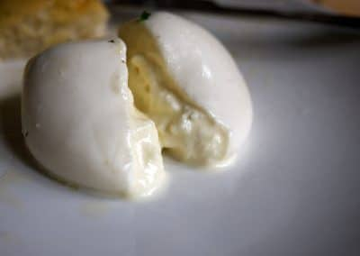 La Burrata, one of Italy's most heavenly cheeses