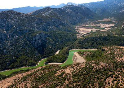 Sardinia's Gennargentu mountain range