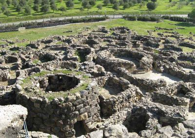 The prehistoric Nuragic Complex of Barumini dates back to the Bronze Age.