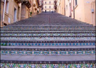 The ceramic steps of Caltagirone