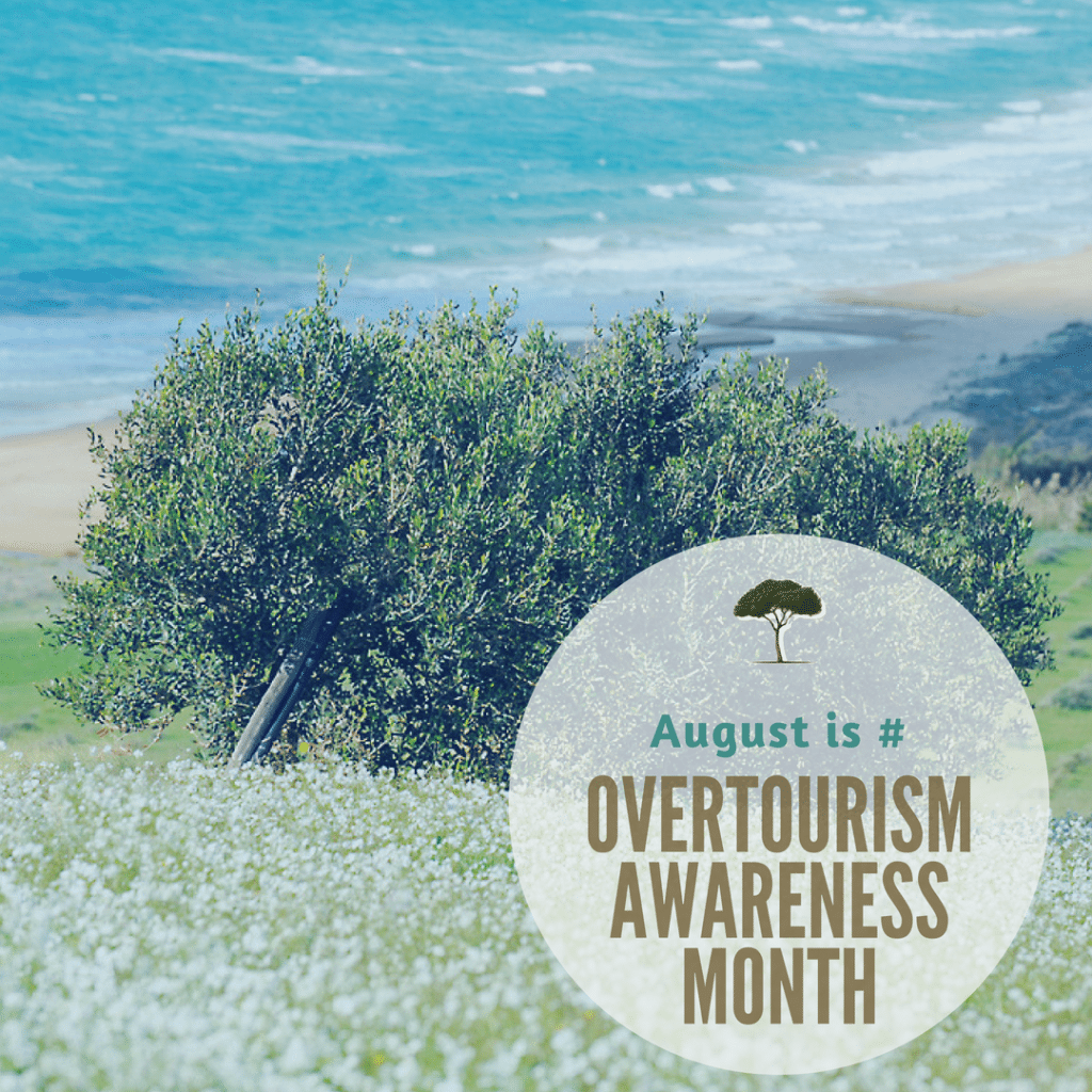italy august overtourism awareness month