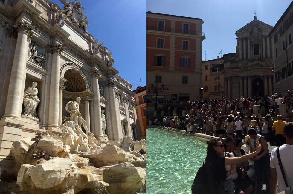 trevi fountain overtourism